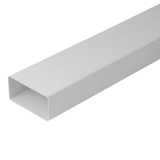 EP-VEN-ACC-K-1, CONDUCTA RECTANGULARA PVC 110*55MM 1M-ALB