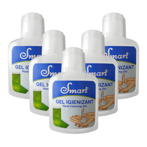 SET 5 BUC GEL IGIENIZANT SMART 100 ML
